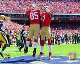 San Francisco 49ers - Vernon Davis, Colin Kaepernick Photo Photo
