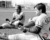 Cincinnati Reds - Johnny Bench, Tom Seaver Photo Photo