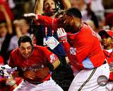 Milwaukee Brewers - Prince Fielder, Ryan Braun Photo Photo
