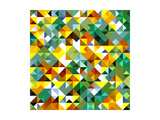Seamless Pattern Of Geometric Shapes Posters by  Login