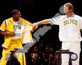 Boston Celtics, Los Angeles Lakers - Larry Bird, Magic Johnson Photo Photo