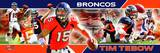 Denver Broncos - Tim Tebow Panoramic Photo Photo