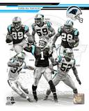 Carolina Panthers - Steve Smith, DeAngelo Williams, Jonathan Beason, Jonathan Stewart, Cam Newton,  Photo
