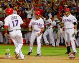Texas Rangers - Michael Young, Nelson Cruz, Mitch Moreland Photo Photo