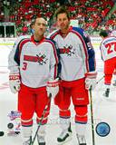 Dallas Stars - Mike Modano, Stephane Robidas Photo Photo