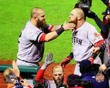 Boston Red Sox - Jonny Gomes, Mike Napoli Photo Photo