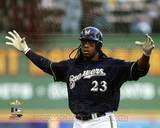 Milwaukee Brewers - Rickie Weeks Photo Photo