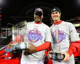 Philadelphia Phillies - Ryan Howard, Cole Hamels Photo Photo