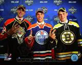 Edmonton Oilers, Boston Bruins, Florida Panthers - Taylor Hall, Tyler Seguin, Eric Gudbranson Photo Photo
