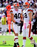 Cleveland Browns - Peyton Hillis, Colt McCoy Photo Photo