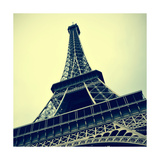 Picture Of The Eiffel Tower In Paris, France, With A Retro Effect Art by  nito