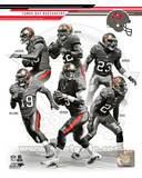 Tampa Bay Buccaneers - Mike Williams, Darrelle Revis, Vincent Jackson, Josh Freeman, Doug Martin, M Photo