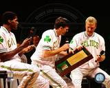 Boston Celtics - Larry Bird, Kevin McHale, Robert Parish Photo Photo