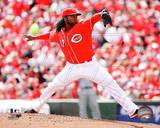 Cincinnati Reds - Johnny Cueto Photo Photo