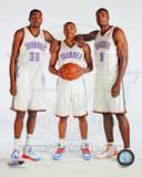 Oklahoma City Thunder - Russell Westbrook, Serge Ibaka, Kevin Durant Photo Photo