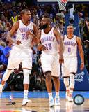 Oklahoma City Thunder - Russell Westbrook, James Harden, Kevin Durant Photo Photo