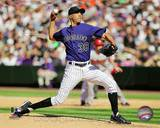 Colorado Rockies - Ubaldo Jimenez Photo Photo