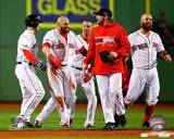 Boston Red Sox - Ryan Dempster, Jonny Gomes, Mike Napoli, Quintin Berry Photo Photo