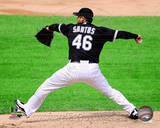 Chicago White Sox - Sergio Santos Photo Photo