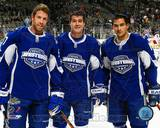 San Jose Sharks - Patrick Marleau, Jonathan Cheechoo, Joe Thornton Photo Photo