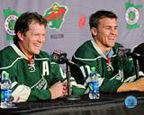 Minnesota Wild - Ryan Suter, Zach Parise Photo Photo
