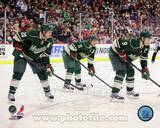 Minnesota Wild - Ryan Suter, Zach Parise, Mikko Koivu Photo Photo