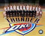 Oklahoma City Thunder - Russell Westbrook, James Harden, Serge Ibaka, Kevin Durant, Kendrick Perkin Photo