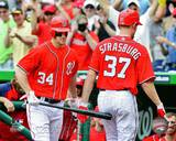 Washington Nationals - Stephen Strasburg, Bryce Harper Photo Photo