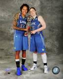 WNBA Minnesota Lynx - Seimone Augustus, Lindsay Whalen Photo Photo