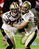 New Orleans Saints - Scott Shanle, David Thomas Photo Photo