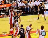 Miami Heat, San Antonio Spurs - LeBron James, Tim Duncan Photo Photo