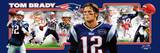 New England Patriots - Tom Brady Panoramic Photo Photo