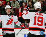 New Jersey Devils - Patrik Elias, Travis Zajac Photo Photo