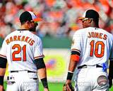 Baltimore Orioles - Nick Markakis, Adam Jones Photo Photo