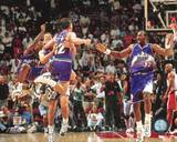 Utah Jazz - Karl Malone, John Stockton Photo Photo