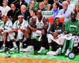 Boston Celtics - Shaquille O'Neal, Kevin Garnett, Paul Pierce, Ray Allen, Rajon Rondo Photo Photo