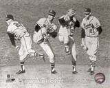 Milwaukee Braves - Warren Spahn Photo Photo