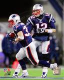 New England Patriots - Tom Brady, Danny Woodhead Photo Photo