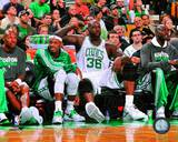 Boston Celtics - Shaquille O'Neal, Kevin Garnett, Paul Pierce, Ray Allen Photo Photo