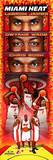 Miami Heat - LeBron James, Dwyane Wade, Chris Bosh Panoramic Photo Photo