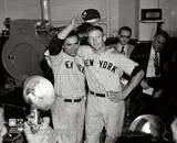 New York Yankees - Yogi Berra, Mickey Mantle Photo Photo