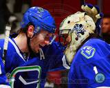 Vancouver Canucks - Roberto Luongo, Ryan Kesler Photo Photo