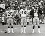 Pittsburgh Steelers - Franco Harris, Rocky Bleier, Terry Bradshaw Photo Photo