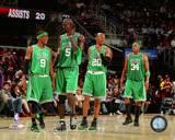 Boston Celtics - Kevin Garnett, Paul Pierce, Ray Allen, Rajon Rondo Photo Photographie