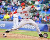 Cincinnati Reds - Homer Bailey Photo Photo