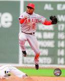 Los Angeles Angels - Erick Aybar Photo Photo