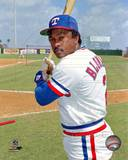 Texas Rangers - Sandy Alomar Sr. Photo Photo
