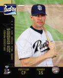 San Diego Padres - Jim Edmonds Photo Photo