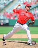 Los Angeles Angels - Garrett Richards Photo Photo