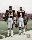 Chicago Bears - Jim McMahon, Walter Payton Photo Photo